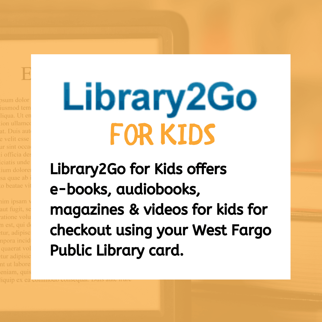 Click here to visit Library2Go for Kids